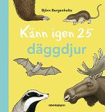Cover for Känn igen 25 däggdjur