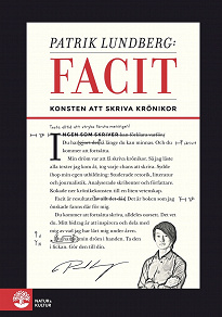 Cover for Facit - konsten att skriva krönikor