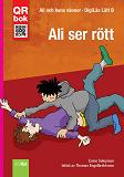 Cover for Ali ser rött - DigiLäs Lätt B