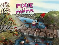 Cover for Pixie och Pappa - På höstpromenad