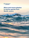 Cover for Micro-and macro-plastics in marine species from Nordic waters
