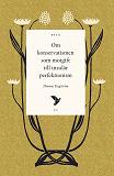 Cover for Om konservatismen som motgift till insulär perfektionism