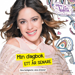Cover for Violetta - Min dagbok ett år senare