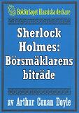 Cover for Sherlock Holmes: Äventyret med börsmäklarens biträde – Återutgivning av text från 1947