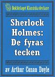 Cover for Sherlock Holmes: De fyras tecken – Återutgivning av text från 1911