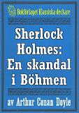Cover for Sherlock Holmes: En skandal i Böhmen – Återutgivning av text från 1947
