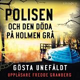 Cover for Polisen och den döde på Holmen grå