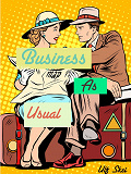 Cover for Business as Usual