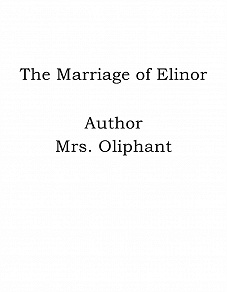 Cover for The Marriage of Elinor