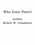 Cover for Who Goes There!