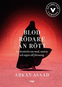 Cover for Blod rödare än rött (lättläst)