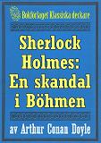 Cover for Sherlock Holmes: En skandal i Böhmen – Återutgivning av text från 1911