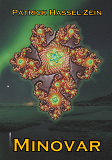 Cover for Minovar: Ett romantiskt science fiction-mysterium på en homonormativ planet.