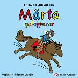 Cover for Märta galopperar