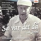 Cover for Så var det då, sa Jonne