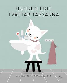 Cover for Hunden Edit tvättar tassarna