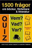 Cover for 1500 frågor om böcker,  författare & litteratur