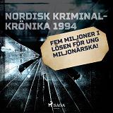 Cover for Fem miljoner i lösen för ung miljonärska!