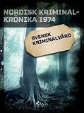 Cover for Svensk kriminalvård