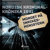 Cover for Mordet på inrikesministern