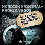 Cover for Åtta små ord fällde dubbelrånaren i norr