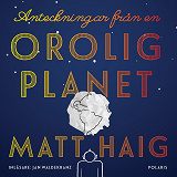 Cover for Anteckningar från en orolig planet