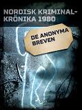 Cover for De anonyma breven