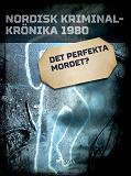Cover for Det perfekta mordet?