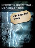 Cover for Ett farligt yrke