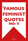 Cover for *FAMOUS FEMINIST QUOTES II (Epub2)