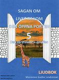 Cover for Den skrytsamma giraffen