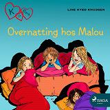 Cover for K for Klara 4 - Overnatting hos Malou