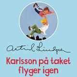 Cover for Karlsson på taket flyger igen