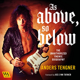 Cover for As Above, So Below - The Unauthorized Yngwie Biography