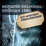 Cover for Ett mystiskt försvinnande