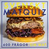 Cover for SVENSKT MATQUIZ : 600 FRÅGOR OM MAT (PDF)
