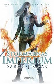 Cover for Stormarnas imperium (Femte boken i Glastronen-serien)