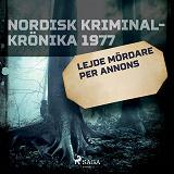 Cover for Lejde mördare per annons