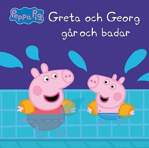 Cover for Greta och Georg går och badar