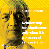 Cover for Relationship has significance only when it is a process of self-revelation