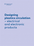Cover for Designing plastics circulation: electrical and electronic products
