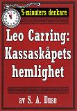 Cover for 5-minuters deckare. Leo Carring: Kassaskåpets hemlighet. Detektivhistoria. Återutgivning av text från 1930