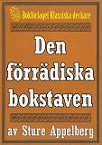 Cover for 5-minuters deckare. Den förrädiska bokstaven. Återutgivning av text från 1944