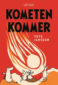 Cover for Kometen kommer lättläst