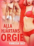 Cover for Alla hjärtans orgie - erotisk novell
