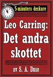 Cover for 5-minuters deckare. Leo Carring: Hans alibi. Återutgivning av text från 1924