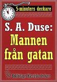 Cover for 5-minuters deckare. S. A. Duse: Namnteckningen. Berättelse. Återutgivning av text från 1925