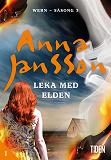 Cover for Leka med elden - 1