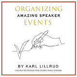 Cover for Organizing amazing speaker events
