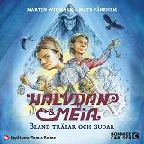 Cover for Halvdan och Meia. Bland trälar och gudar